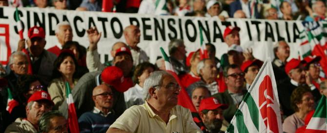 Pochi in pensione e con assegni da fame