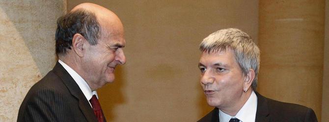 """Bersani scarica l'Udc. E il """"Ft"""" ha già paura della sinistra di Nichi"""