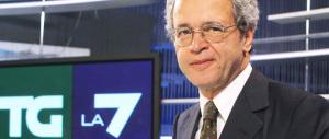"""Grillo chiede scusa a Mentana: """"Fa informazione rispettosa della verità"""""""