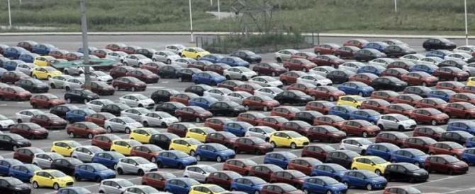 Un 2012 disastroso per le auto