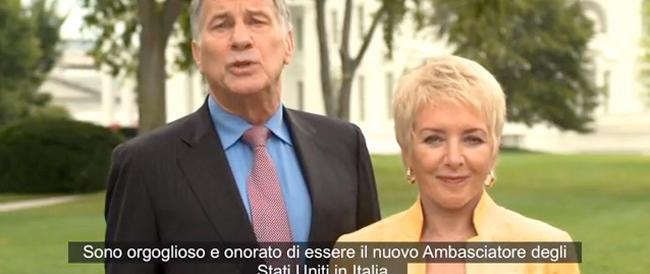 Altro che declino (tanto caro alla sinistra…). L'ambasciatore Usa si presenta con un video nel segno dell'orgoglio italiano