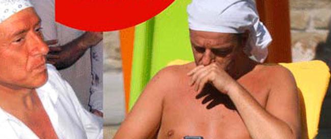 """Dallo """"spompo"""" alla bandana: Renzi continua a scimmiottare l'uomo di Arcore"""