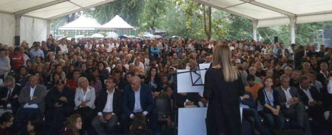 Da Atreju nasce l'Officina per l'Italia. Meloni: la sfida è lanciata, ma niente rendite di posizione