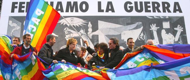 Guerra e pace: il tramonto del popolo arcobaleno che lascia il posto al popolo di Francesco
