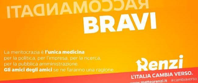 """L'idea """"meravigliosa"""" di Renzi? Scrivere parole banali in senso contrario e spacciarle per idee originali"""