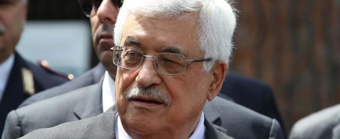 Papa Francesco riceve Abu Mazen. E gli dona la penna… per firmare la pace con Israele