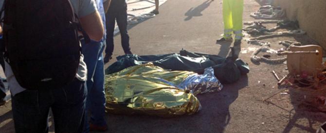 Lampedusa, barcone in fiamme: stavolta gli immigrati morti sono almeno 50. E ci sono anche bambini