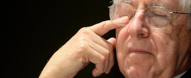 """Monti, un leader mai nato, ridotto all'irrilevanza da chi doveva aiutarlo a """"scalare"""" il Pdl"""