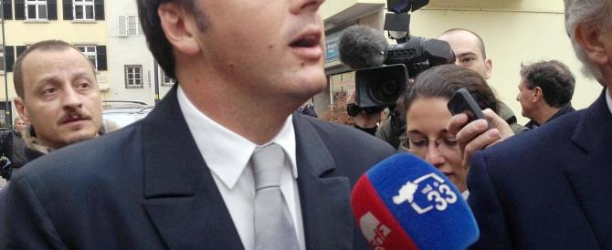 Renzi spara su D'Alema e Finocchiaro e non rinuncia alla comoda poltrona da sindaco
