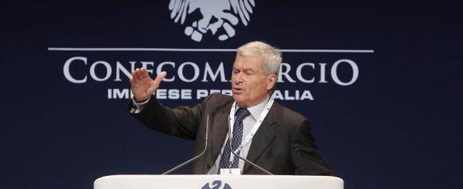 Confcommercio: «Le promesse di Renzi non dobbiamo pagarle noi con l'Iva»