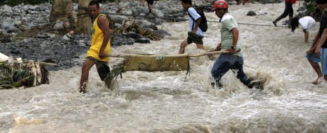 Il tifone più potente della storia ha già fatto 100 morti nelle Filippine