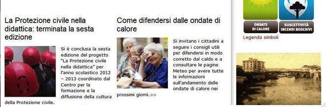 La Protezione civile di Roma avvisa: «Attenti alle ondate di caldo». E Marino diventa lo zimbello del web