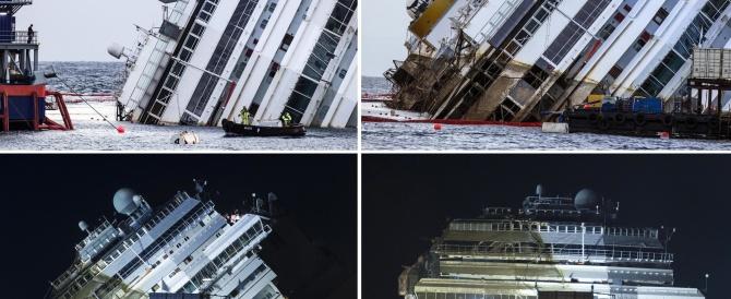 """La cronaca di un anno: naufragi e processi. Su tutte le altre svetta la notizia della Concordia """"risollevata"""""""