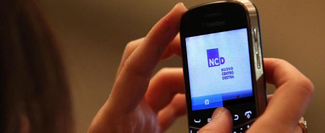 """Alfano diventa """"no-logo"""". Il (freddo) simbolo del suo Ncd prepara il discount della politica"""