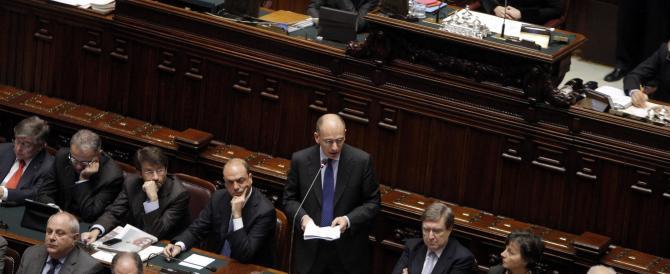 Letta chiede la fiducia alla Camera: «Di qua chi crede nell'Europa, di là i populisti»