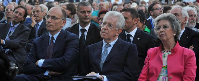 """Monti reo confesso: sono stato io ad """"ammazzare"""" Berlusconi"""