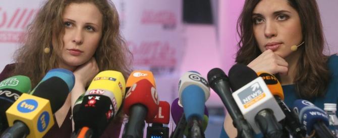 Scarcerate le Pussy Riot, che insistono: accuse a Putin e alla Chiesa ortodossa