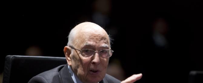 """Messaggio alla Camera di Napolitano per """"salvare"""" il governo dalla figuraccia sul decreto ritirato"""