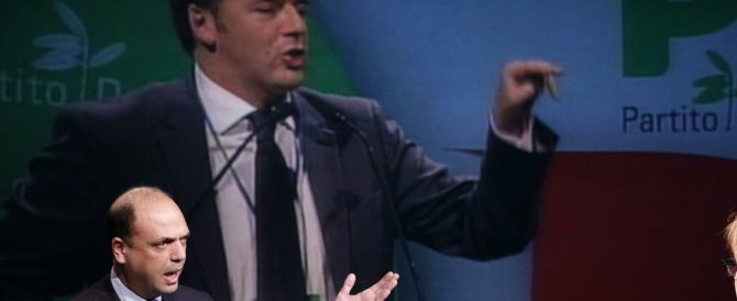 Renzi vuole il modello spagnolo per accelerare la fine del governo, Alfano lo accontenterà