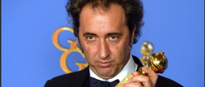 """Paolo Sorrentino trionfa ai Golden Globe e ringrazia """"la grande bellezza"""" dell'Italia"""