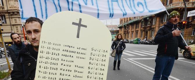 """I Forconi diventano """"forconcini"""". Pochissime persone hanno partecipato ai sit in di Torino, Genova e Roma"""