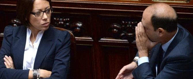 De Girolamo non si dimette ed è pronta a difendersi in Parlamento. Alfano la blinda, i renziani si spaccano