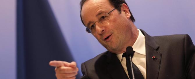 Hollande è già euforico e si diverte a punzecchiare Valerie su Twitter…
