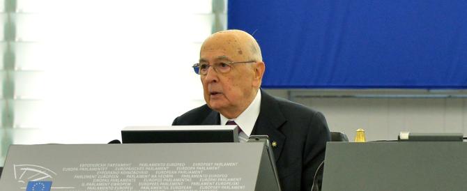 Napolitano in difesa dei marò: «Non erano in India per pescare, ma in missione internazionale»