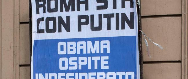 """La stampa con Obama, la gente con Putin. A dispetto delle """"anime belle"""""""