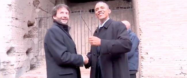 """Renzi """"scompare"""" dal video pubblicato sul sito della Casa Bianca. Eppure c'è Franceschini…"""