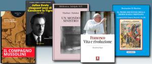 """Libri della settimana: la Dc e De Gasperi, chi cavalca la tigre evoliana, Nobokov contro le dittature, la rivoluzione del Papa e il """"compagno"""" Mussolini"""