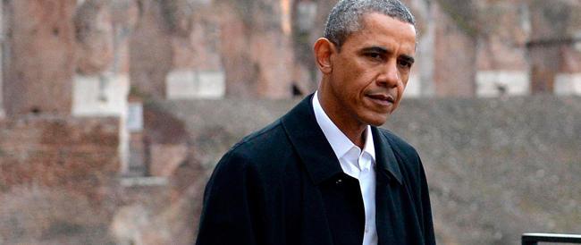E Barack paragonò il Colosseo a uno stadio di baseball…