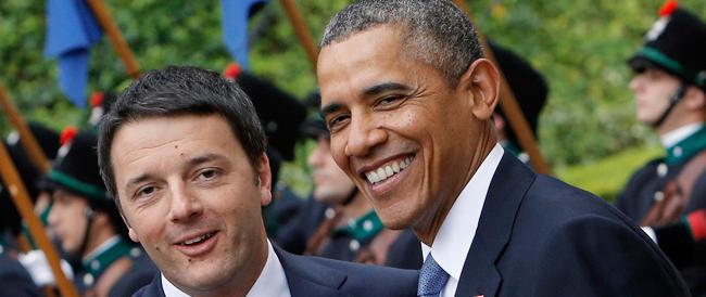 Obama elogia l'«energia» di Renzi per spirito di cortesia, ma non lo incorona