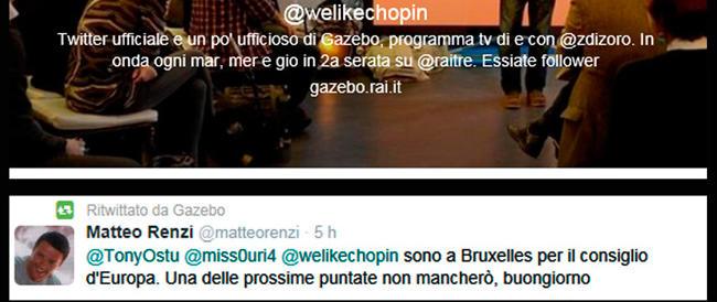 Stavolta la rete tradisce Renzi globetrotter. In un tweet confonde Strasburgo con Bruxelles