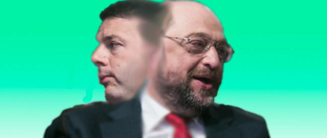 Gasparri e Matteoli avvertono gli elettori: «Alle europee chi vota Renzi vota Schulz»