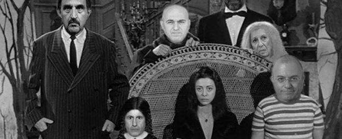 E la famiglia Addams si allarga: entrano anche Storace, Alemanno, Poli Bortone e Marsilio