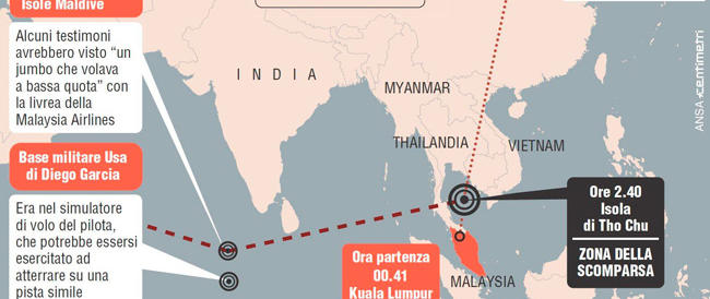Scoperti forse i resti dell'aereo misteriosamente scomparso nell'oceano Indiano