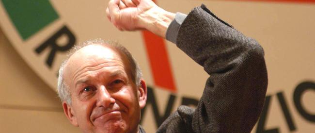 Una voce dall'oltretomba: Bertinotti si rifà vivo per dire che la sinistra è morta