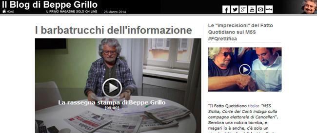 """L'ultima """"rivelazione"""" di Grillo: il presidente americano è venuto per il gas e gli F35"""