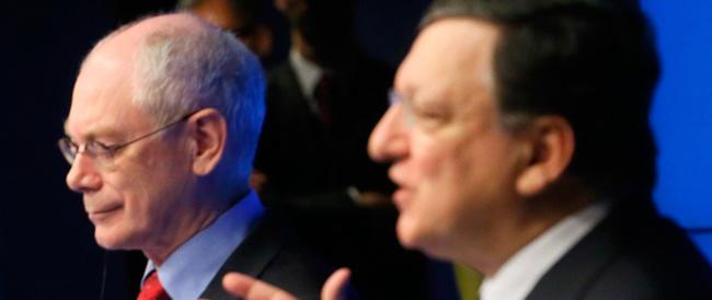 Il nodo del deficit arriva al vertice Ue: è già schermaglia tra Renzi e Barroso