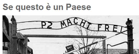 Satira politica sull'Olocausto, Grillo nella bufera. Proteste bipartisan, l'ira degli ebrei