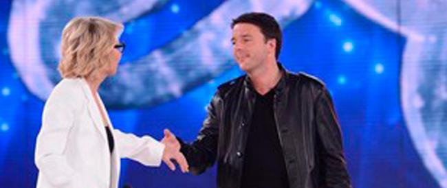 «Troppo Renzi in tv»: salta la sua presenza su Mediaset. «Colpito e affondato», esulta Gasparri