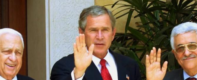 Bush dipinge quadri di leader politici: Berlusconi abbronzato e Putin con gli occhi di ghiaccio