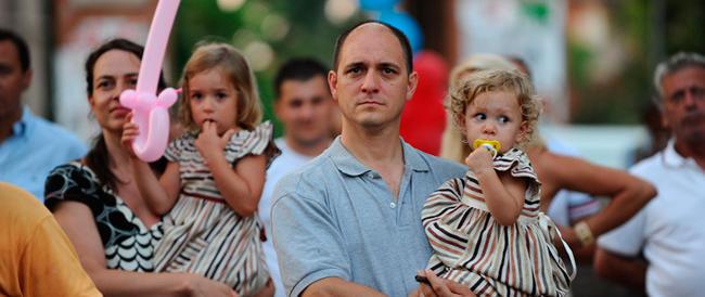 Famiglie numerose in via d'estinzione: «Renzi si è dimenticato di noi»