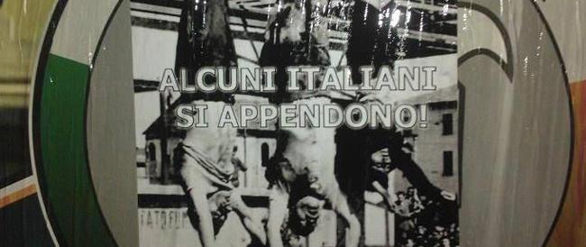 Nel 2014 c'è chi ancora inneggia a Piazzale Loreto e ai corpi straziati di Mussolini e Claretta