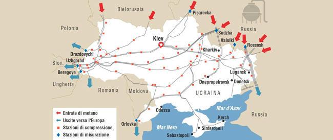 Lettera di Putin ai leader europei: «L'Ucraina paghi i debiti o sospenderemo la fornitura del gas»