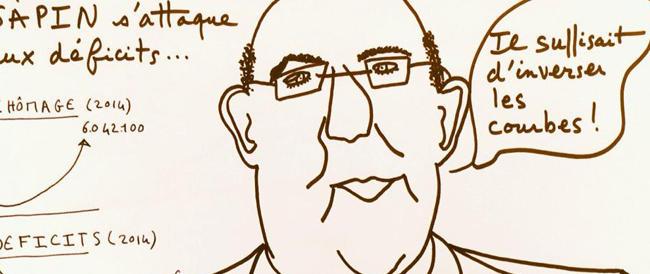 """Il figlio di Sarkozy """"ridicolizza"""" Hollande disegnando vignette satiriche. Boom di condivisioni"""