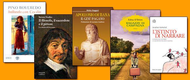 Libri della settimana. Ragazze d'Irlanda, un ballo con i matti, la vita di Apollonio di Tiana, il potere della fantasia, Cartesio e il suo pittore