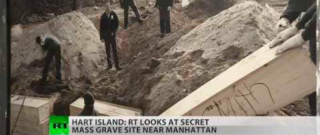 """Hart Island a New York, l'isola proibita dove sono sepolti i """"figli di un dio minore"""""""