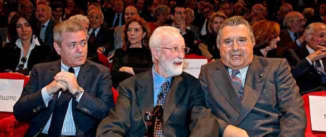La sinistra radical chic in ginocchio alla festa di Scalfari. E lui si vanta: mi hanno chiamato il Papa e Giorgio…